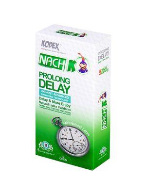 کاندوم تاخیری پرولانگ ناچ کدکس ( Nach Kodex PROLONG DELAY )