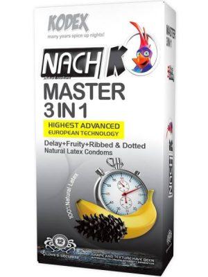 کاندوم مستر 3 در 1 ناچ کدکس ( Nach Kodex MASTER 3 IN 1 )