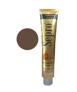 مشخصات،قیمت و خرید رنگ موی سپرو شماره 7/1 قهوه ای خاکستری متوسط