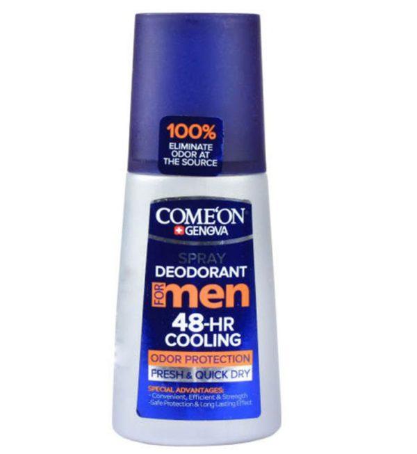 اسپری دئودورانت مردانه کامان مدل COOLING