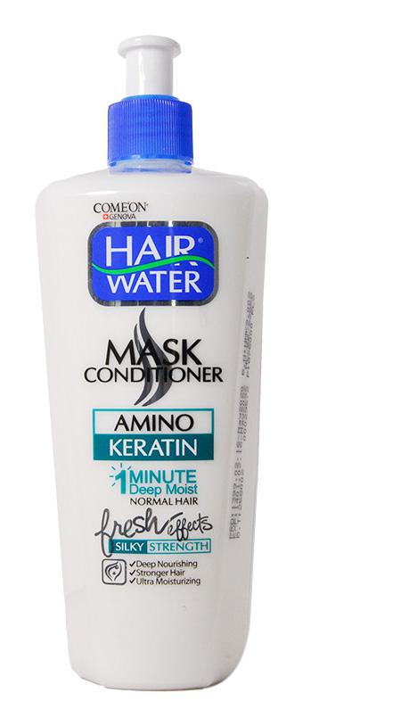 ماسک مو هیر واتر کراتین کامان مناسب موهای چرب