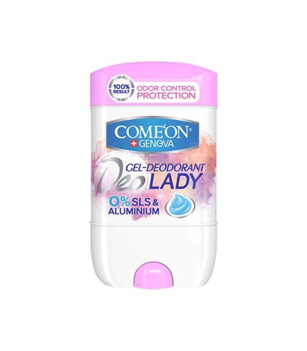 ژل دئودورانت زنانه کامان ضد حساسیت مدل Lady