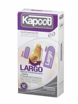 کاندوم تاخیری و حجم دهنده لارگو