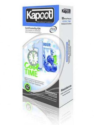 کاندوم تاخیری کاپوت COOL 1 TIME