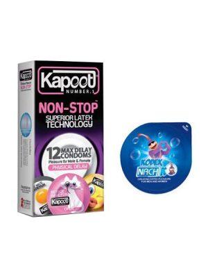 کاندوم تاخیری فیزیکی کاپوت NON-STOP