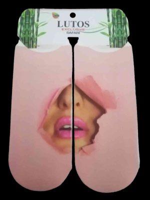 جوراب مچی دخترانه چاپ لیزری طرح فانتزی