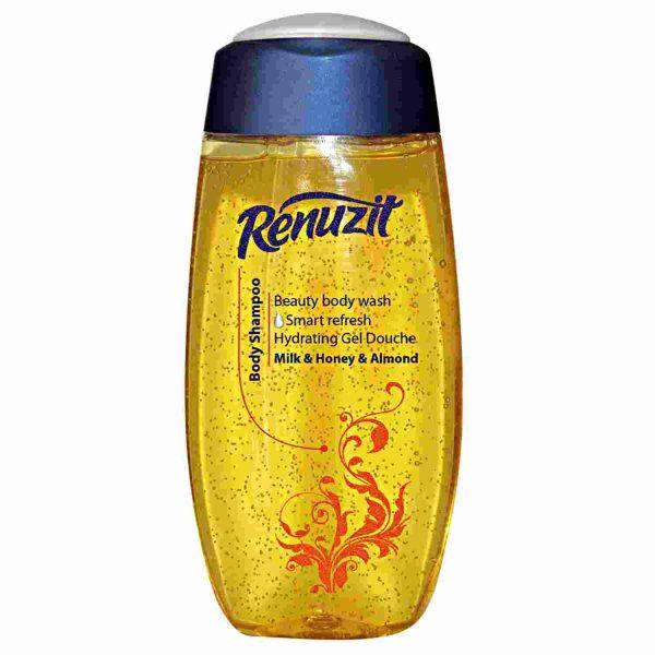 شامپو بدن رینوزیت با عصاره شیر عسل بادام
