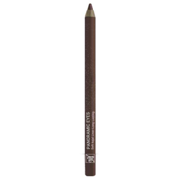 مداد چشم رنگ قهوه ای پانورامیک آیز سری بلک دایموند مای