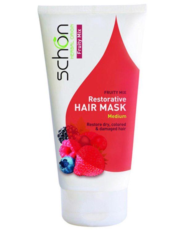 ماسک مو احیاء کننده شون حاوی عصاره میوه ها مخصوص موهای خشک