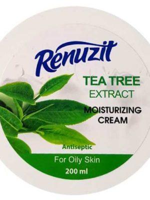 کرم مرطوب کننده پوست رینوزیت حاوی عصاره درخت چای
