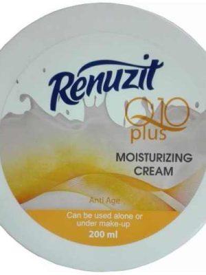 کرم مرطوب کننده پوست رینوزیت حاوی کوآنزیم Q10