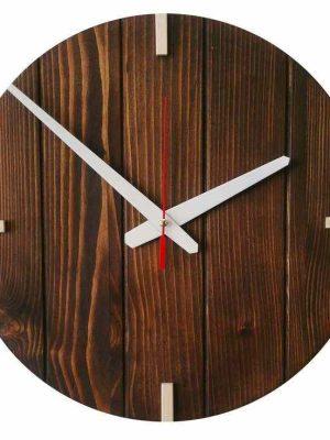 ساعت دیواری چوبی دایره ای